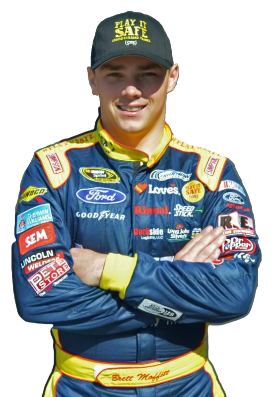 Grimes' Brett Moffitt wins NASCAR rookie of the year award