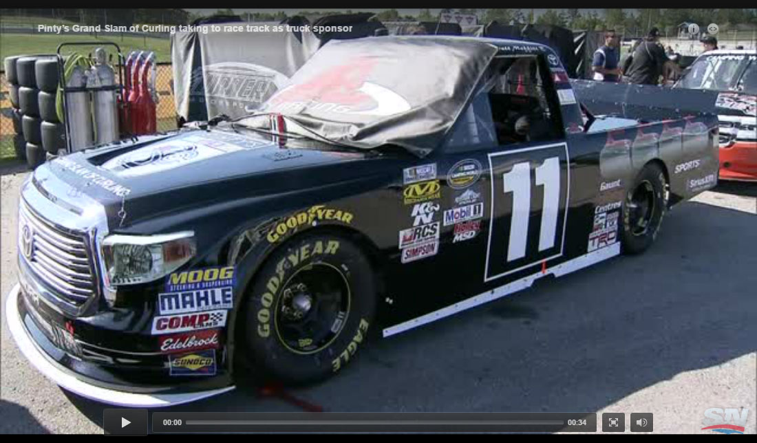 Pinty's GSOC Featured on NASCAR Truck in Canadian Race