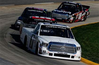Brett Moffitt Earns Sixth-Place Finish After Long Day at Martinsville