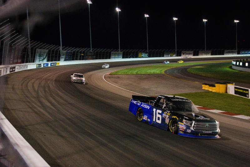 Moffitt's Eventful Night Results in 14th at Gateway