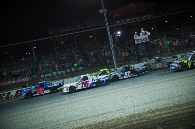 Moffitt Earns Top-Five Finish in Eldora Debut