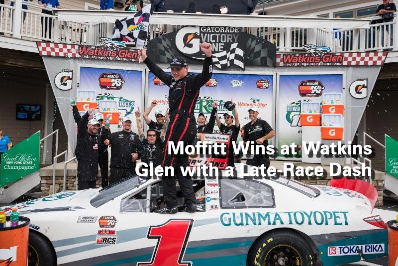 Moffitt Wins at Watkins Glen with a Late-Race Dash