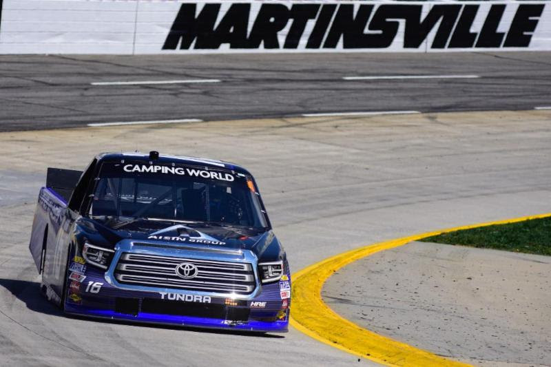 Moffitt Has New Life at Martinsville