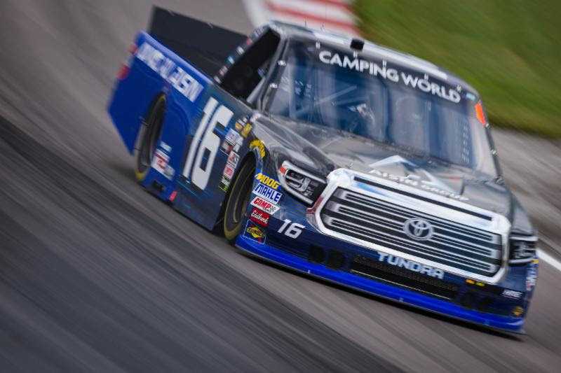 Moffitt Chases First Career NCWTS Title at Homestead