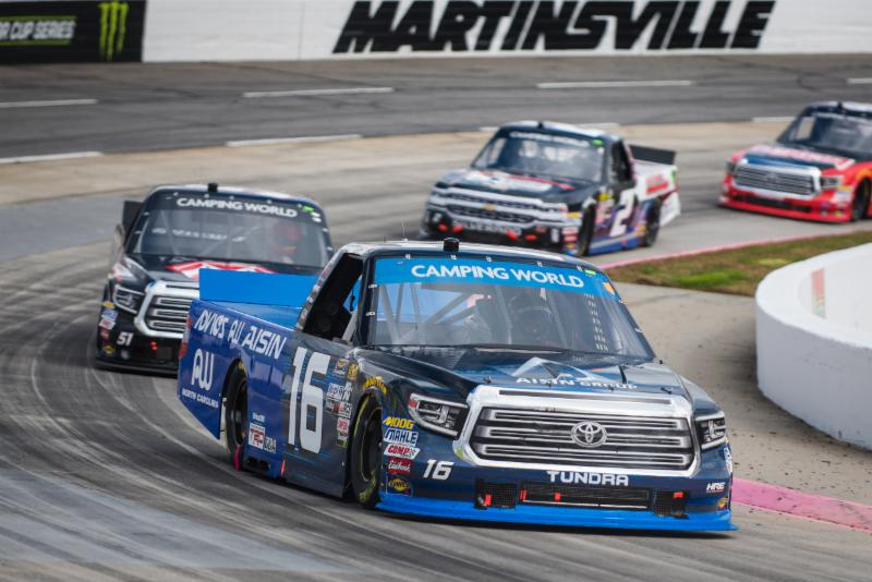 Moffitt Delivers Strong Top-FIve Performance at Martinsville