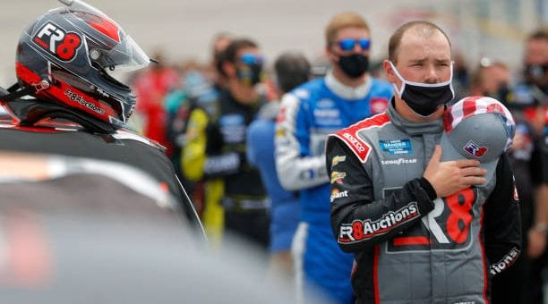 Brett Moffitt finishes eighth at Atlanta Motor Speedway
