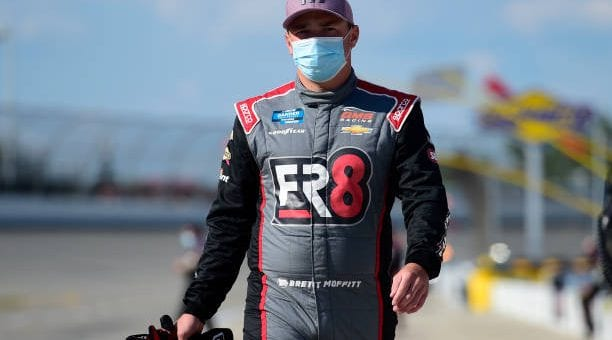 Brett Moffitt drives No. 23 Chevrolet Silverado to sixth-place finish at Michigan International Speedway