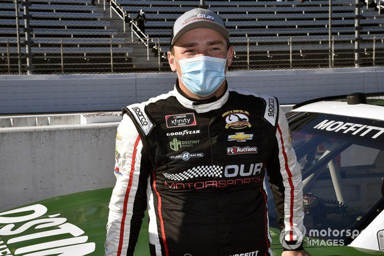 2018 NASCAR Truck Series champion Brett Moffitt will make the move over to the NASCAR Xfinity Series for the 2021 season.
